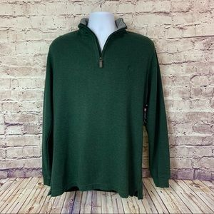 Chaps Men's Green Pullover Sweater